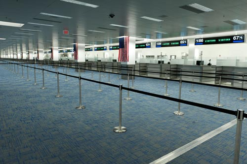 arrival miami airport map