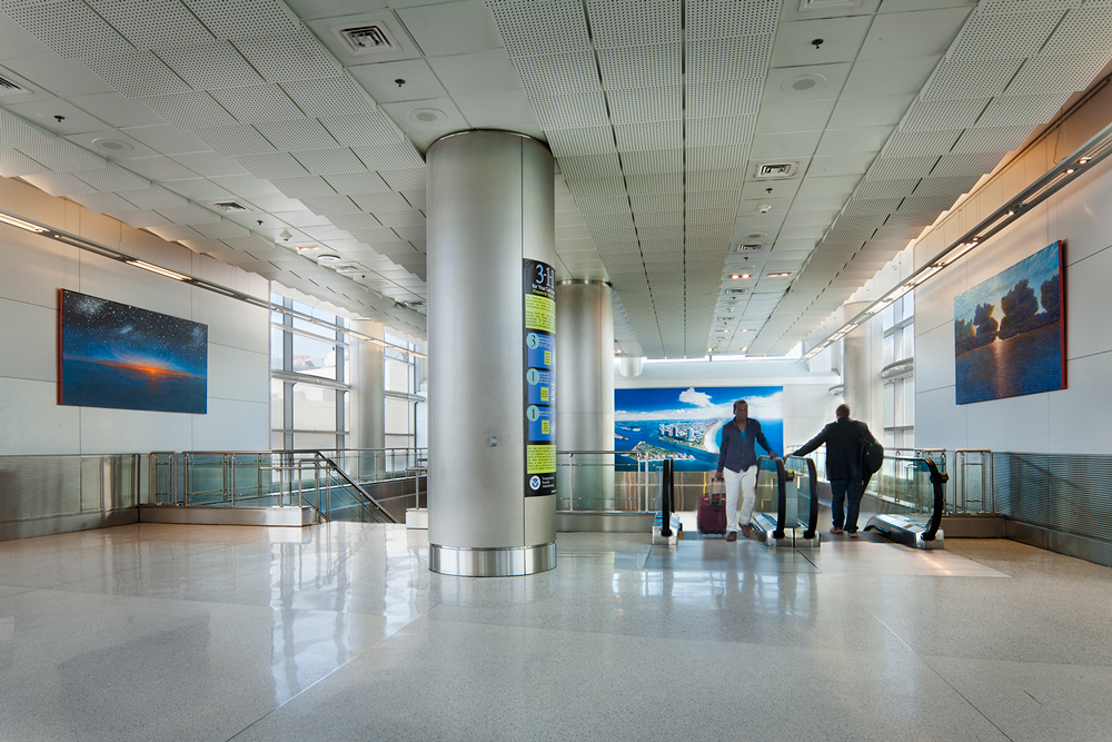 site specific-north terminal - miami international airport