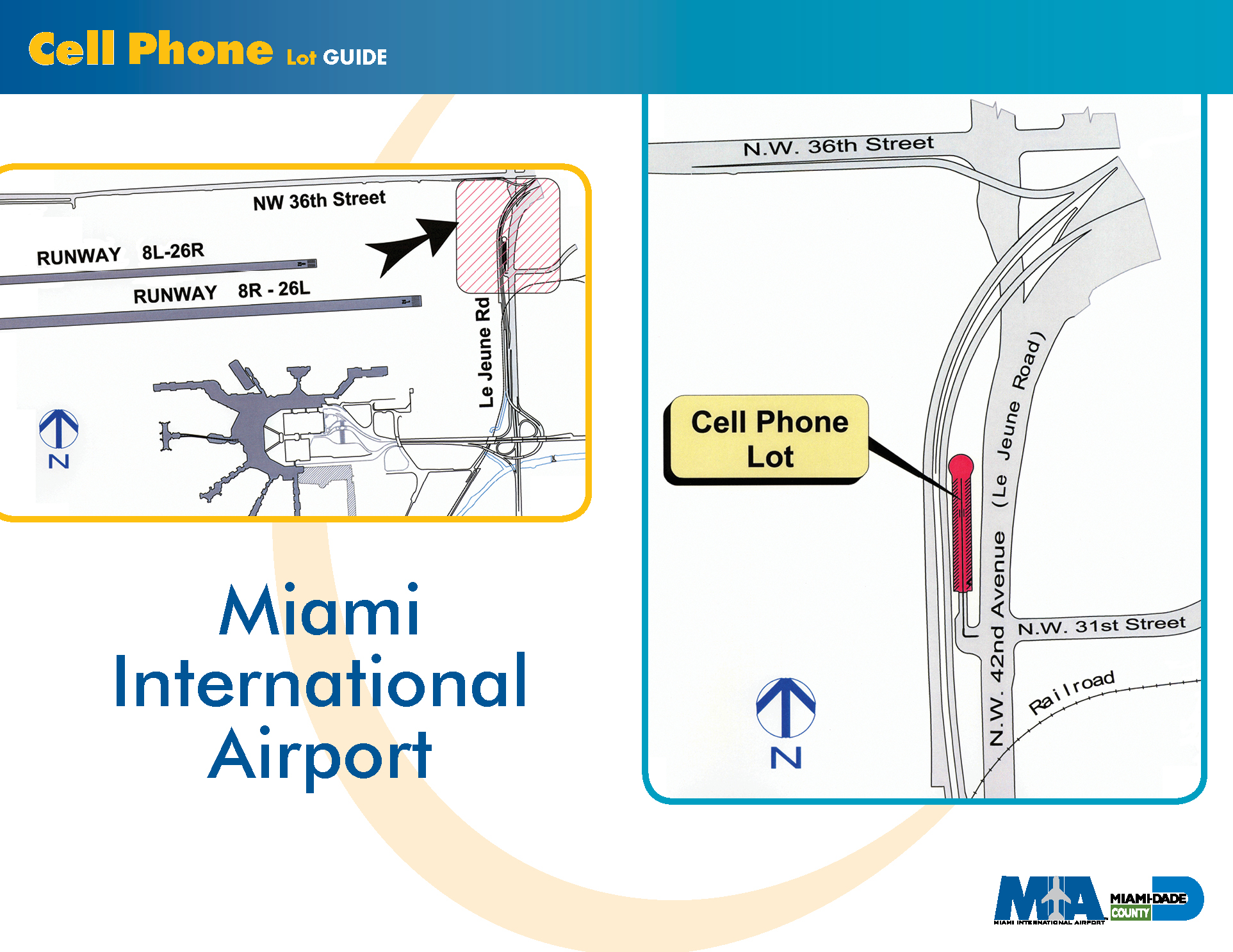 airport parking - miami international airport