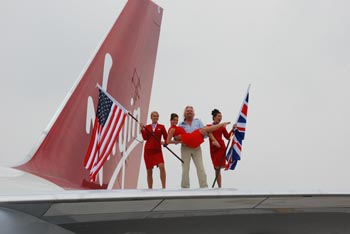 Virgin Atlantic Celebrates 25 Years in Miami Skies