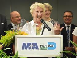 MIA HONORS VOLUNTEER OF THE YEAR FOR SIX YEARS OF TIRELESS CUSTOMER SERVICE