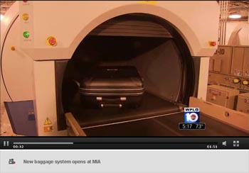 New Baggage System Opens at MIA